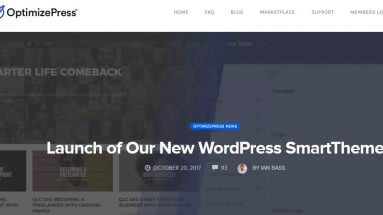 OptimizePress Smart Theme Launch