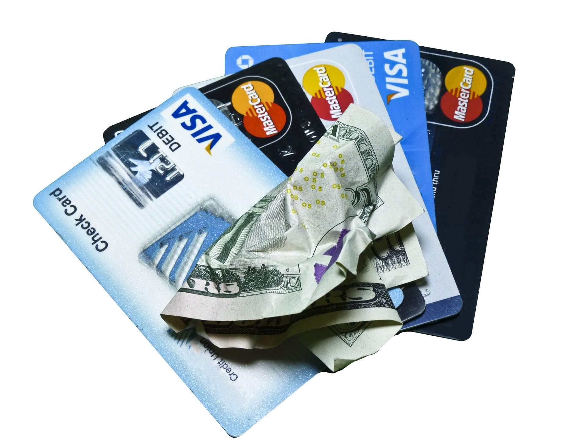 credit card & cash