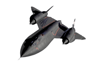 SR-71 Spy Plane