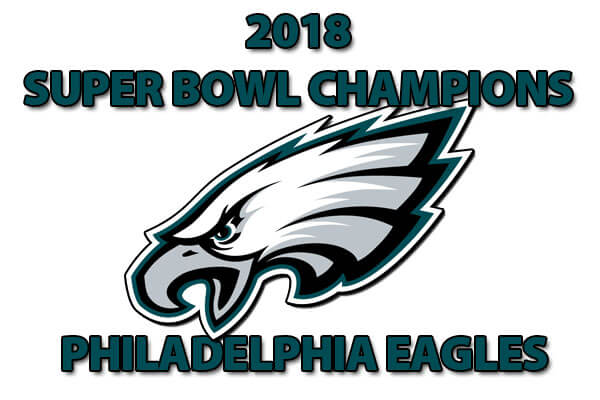 2018 SUPER BOWL CHAMPIONS